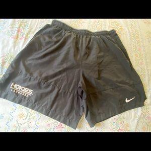 Virginia Tech Hokies Nike Lacrosse Shorts